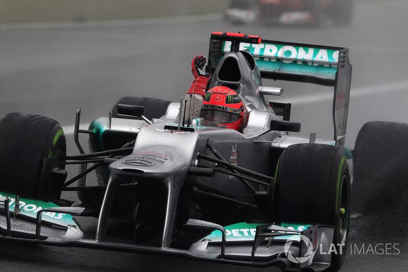 2012: Michael Schumacher, Mercedes AMG F1 W03