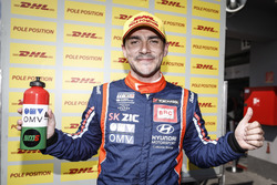 Pole position de Norbert Michelisz, BRC Racing Team Hyundai i30 N TCR