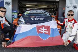Andrej Studenic, Brutal Fish Racing Team Volkswagen Golf GTI TCR, Mato Homola, DG Sport Competition Peugeot 308TCR