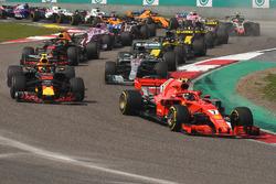 Kimi Raikkonen, Ferrari SF71H startta