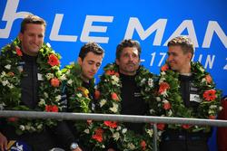 Podium LMGTE Am : winners Christian Ried, Julien Andlauer, Matt Campbell, Proton Competition, Patrick Dempsey, Dempsey Proton Competition
