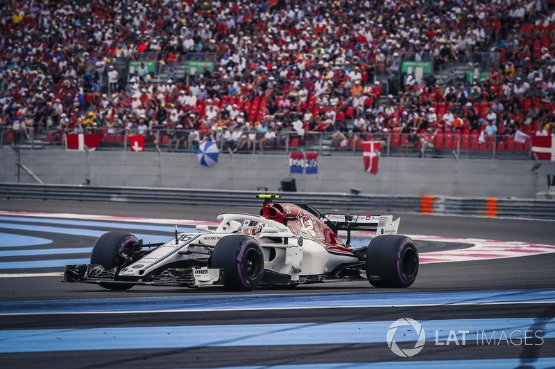 10e : Charles Leclerc (Alfa Romeo Sauber)