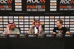 Prens Khaled Al Faisal, Suudi Arabistan Motor Federasyonu Başkanı, Prens Abdulaziz Al Faisal, Suudi Arabistan Spor Bakanlığı başkan yardımcısı ve ROC Başkanı Fredrik Johnsson