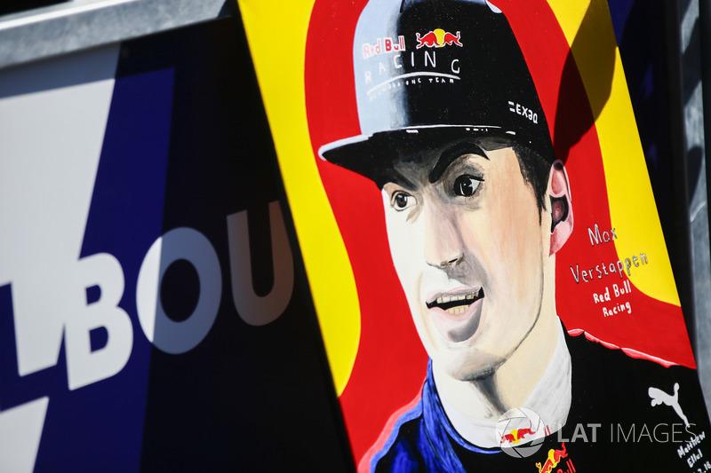 Гран Прі Австралії: малюнок Макса Ферстаппена, Red Bull Racing