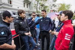 Lando Norris, Carlin, George Russell, ART Grand Prix, Alexander Albon, DAMS,Nyck De Vries, PREMA Racing