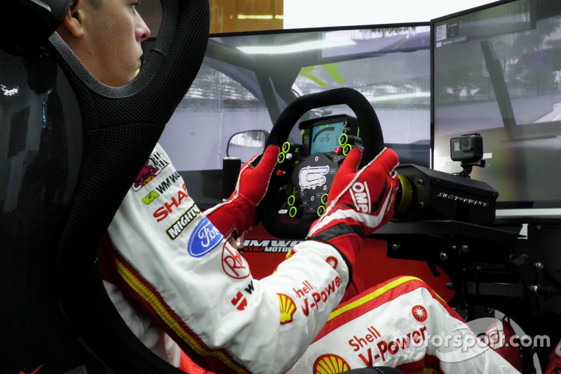 DJR Team Penske simulator announcement