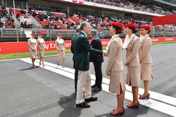 Sean Bratches, Formula One Managing Director, Commercial Operations on the grid