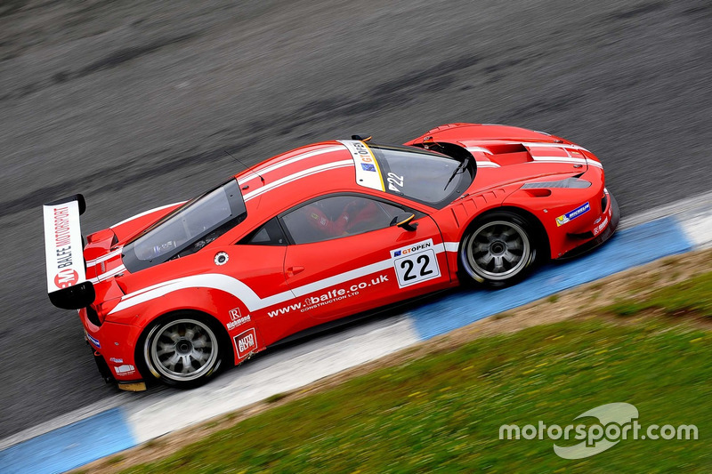 Shaun Balfe, Philip Keen, Ferrari 458 Italia GT3 at Estoril