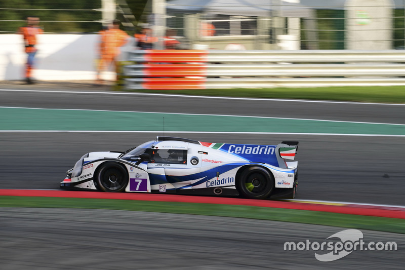 #7 Villorba Corse, Ligier JSP3 - Nissan: Roberto Lacorte, Giorgio Sernagiotto