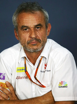 Beat Zehnder, Sauber F1 Team Manager in the FIA Press Conference