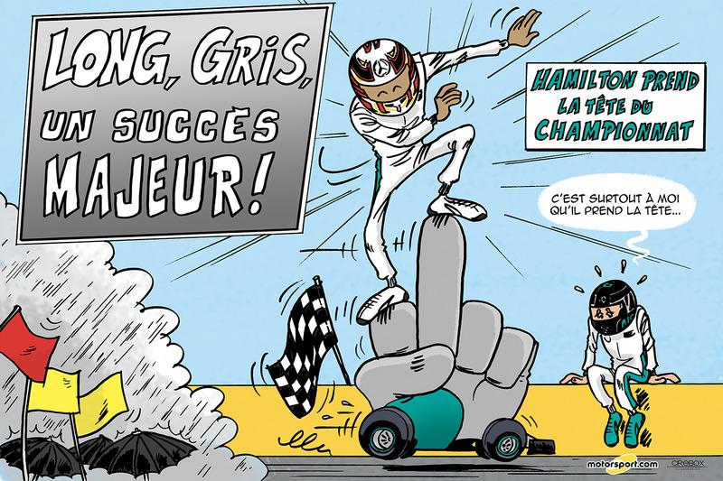GP de Hongrie - Long, Gris, un succès majeur !