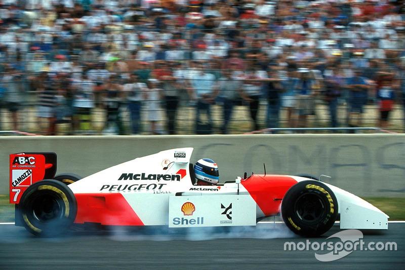 Mika Hakkinen, McLaren Peugeot MP4/9 (1994)