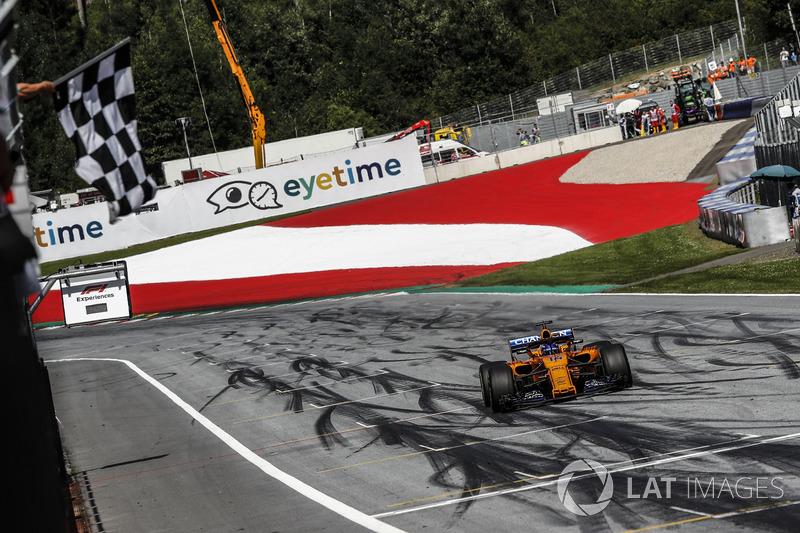 Fernando Alonso - McLaren: 8