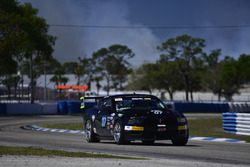 #07 TA4 Ford Mustang, Brian Kleeman of DWW Motorsports