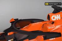 McLaren MCL32 con l'halo