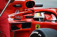 Ferrari SF71H, specchietto sull'halo