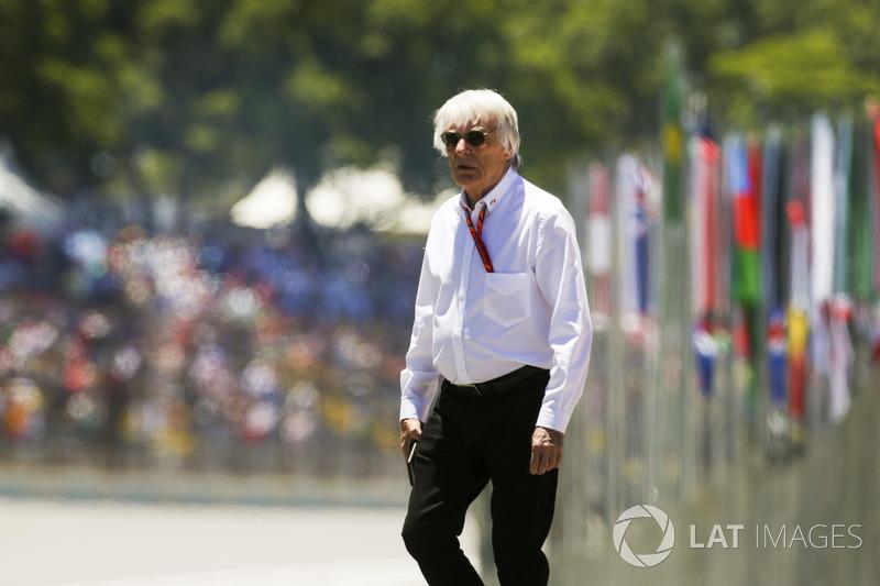 Bernie Ecclestone, Chairman Emeritus of Formula 1
