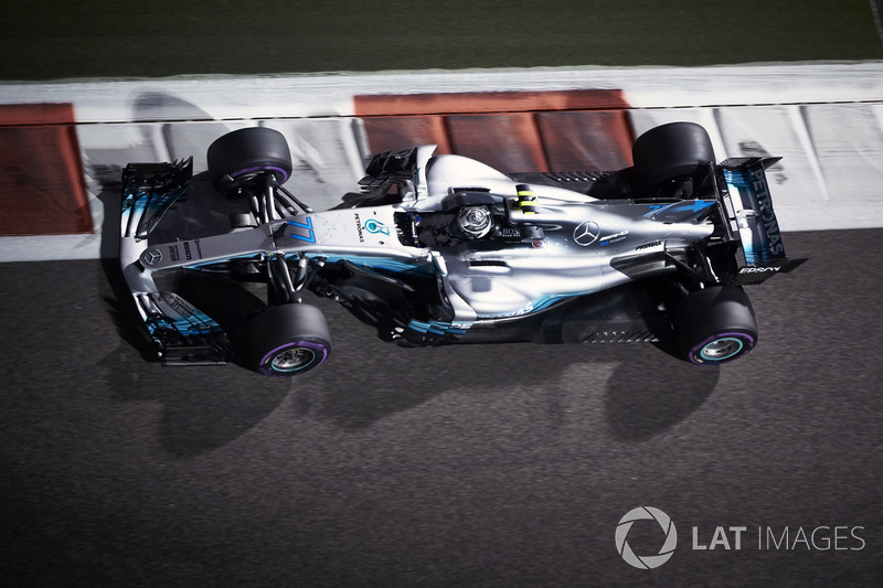 2017: Valtteri Bottas, Mercedes F1 W08 EQ Power