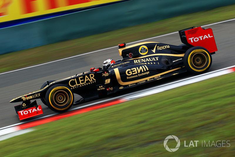 2012: Lotus E20