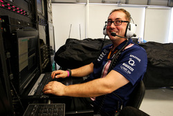 Paul Bendrey, Trackside IT Analyst, Sahara Force India