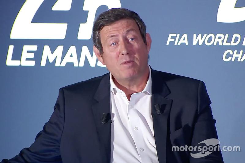 Gérard Neveu, CEO WEC