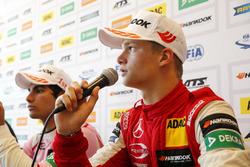 Persconferentie, Ralf Aron, PREMA Theodore Racing Dallara F317 - Mercedes-Benz