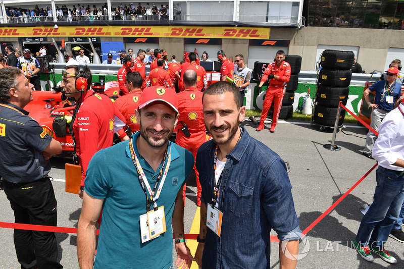 Giorgio Chiellini, Footballer and Leonardo Bonucci, Footballer on the grid