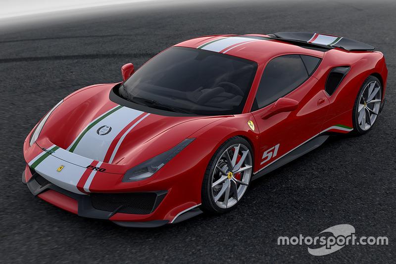 Ferrari 488 Pista Piloti Ferrari