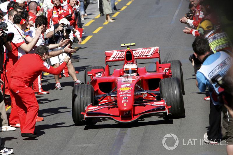 16. Ferrari (2007-2008)