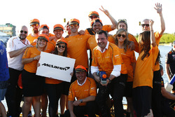 The McLaren Raft Race Team