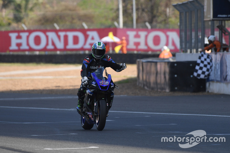 SS600: Anthony West, Webike IKAZUCHI Racing