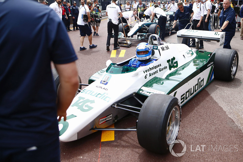 Koke Rosberg se reencuentra con su Williams FW08 Cosworth de 1982