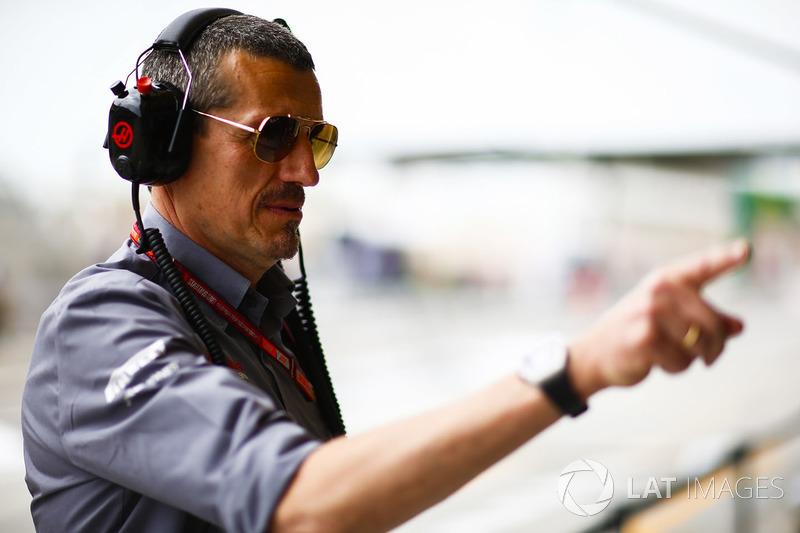 Günther Steiner, Team Principal, Haas F1