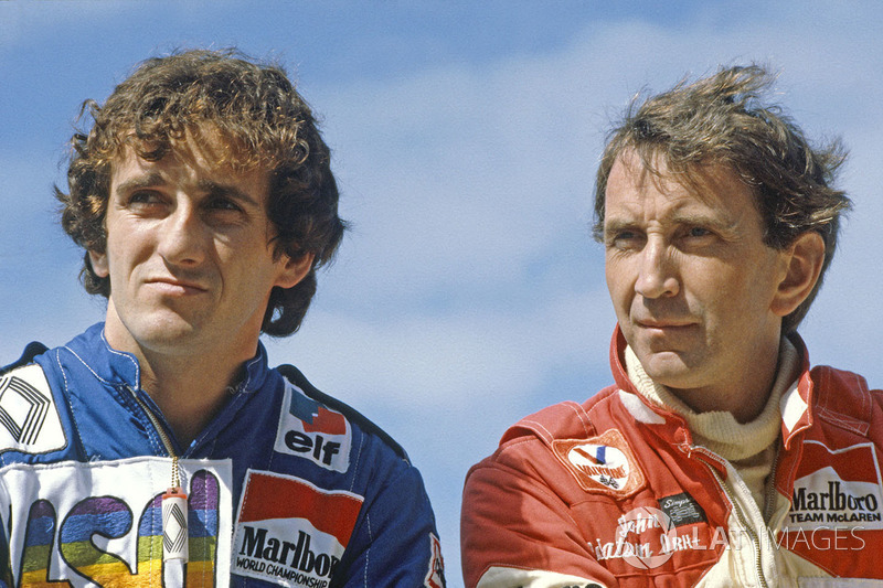 Alain Prost, Renault, John Watson, McLaren