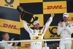 Podium: second place Timo Glock, BMW Team RMG