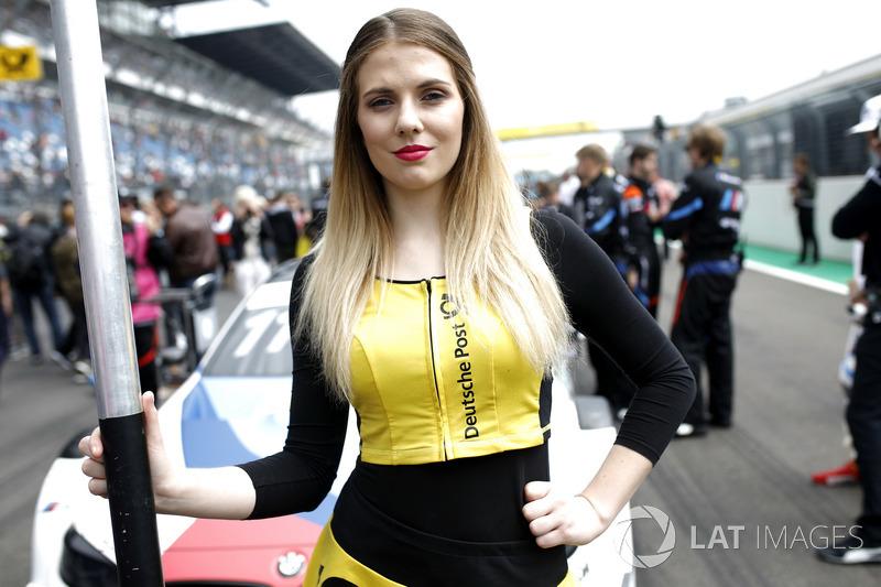 Grid girl of Marco Wittmann, BMW Team RMG