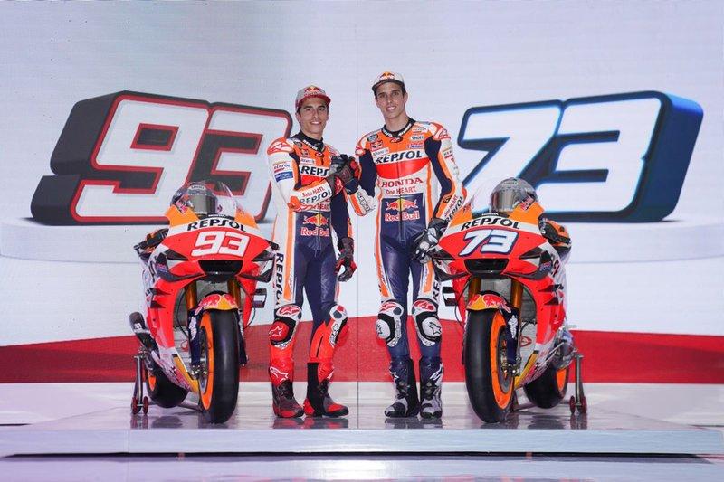 Repsol Honda Team launch