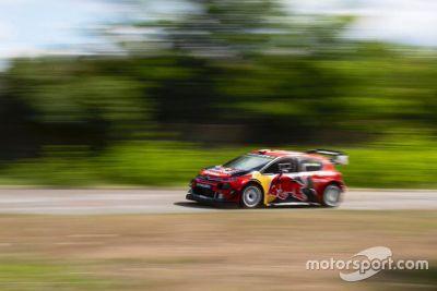 Essais de Bottas avec la Citroën WRC