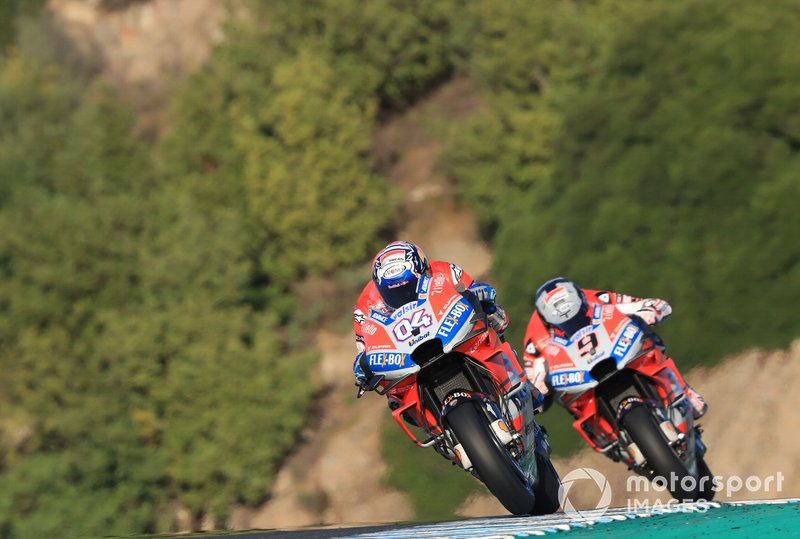 Андреа Довіціозо, Даніло Петруччі, Ducati Team