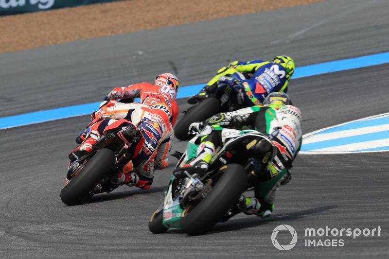 Валентино Россі, Yamaha Factory Racing, Андреа Довіціозо, Ducati Team, Марк Маркес, Repsol Honda Team, Кел Кратчлоу, Team LCR Honda