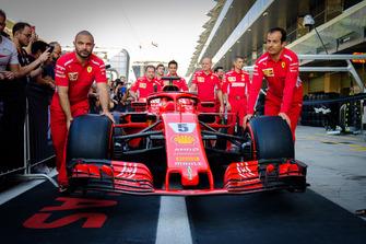 Ferrari Pit Crew