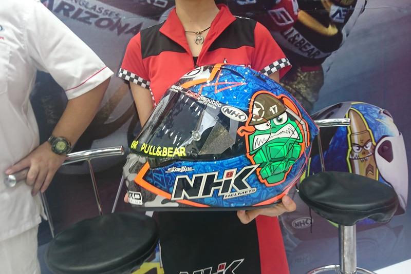 NHK Terminator GP-RTECH Karel Abraham