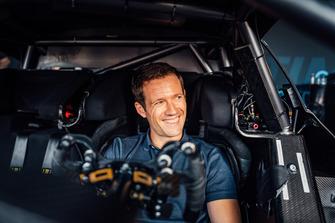 Sébastien Ogier dans la Mercedes-AMG C 63 DTM