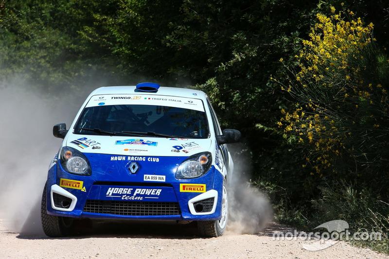 Trofeo Twingo R2 Terra: San Marino