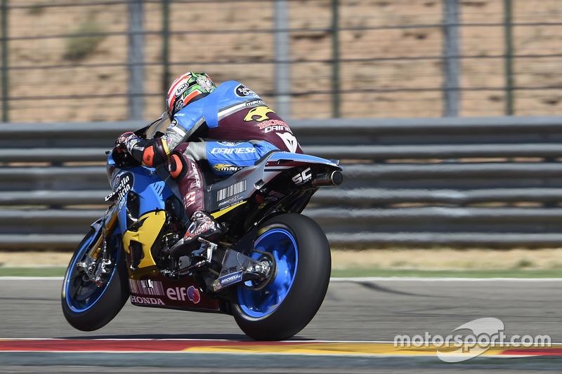 Dernier point en MotoGP pour Hayden