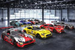 Das Aufgebot von Mercedes-AMG für die 24h Spa