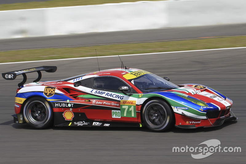 7. LMGTE-Pro: #71 AF Corse, Ferrari 488 GTE