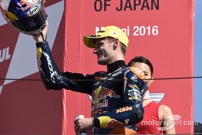 Podium: 2. Brad Binder, Red Bull KTM Ajo