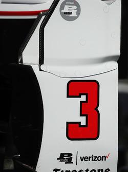 Bodywork for Helio Castroneves, Team Penske Chevrolet