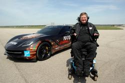 Sam Schmidt ve ARROW Chevrolet Corvette